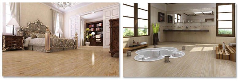 suelos decorativos madera